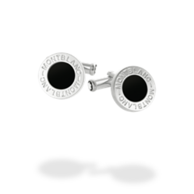 MONTBLANC Iconic mandzsettagomb, Onyx berakással