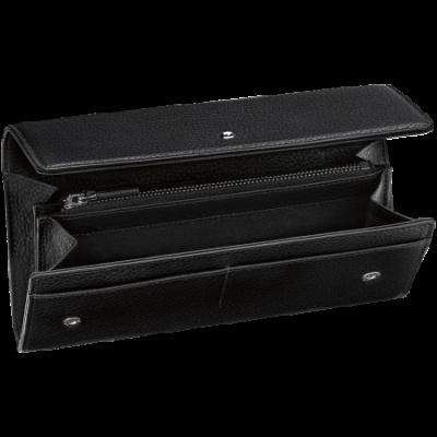 MONTBLANC Urban Spirit fekete bőr pénztárca 8cc, díszdobozban