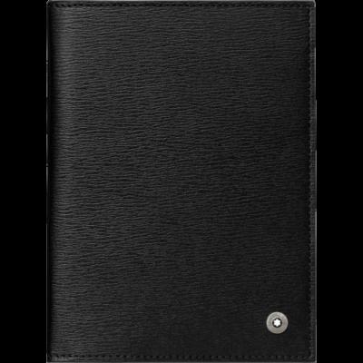 MONTBLANC Westside útlevéltartó, fekete, díszdobozban