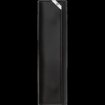 MONTBLANC Urban Spirit fekete bőr tolltartó, 1 tollhoz, díszdobozban