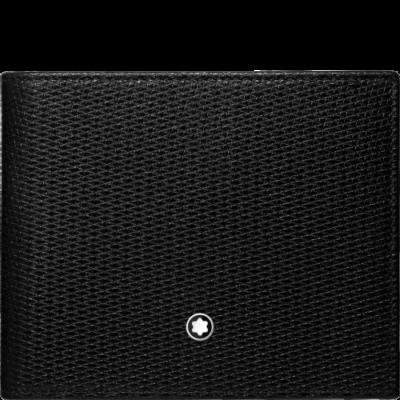 MONTBLANC Meisterstück UNICEF bőr tárca 6cc, fekete, díszdobozban