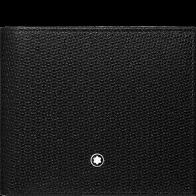 MONTBLANC Meisterstück UNICEF bőr tárca 4cc, fekete, díszdobozban