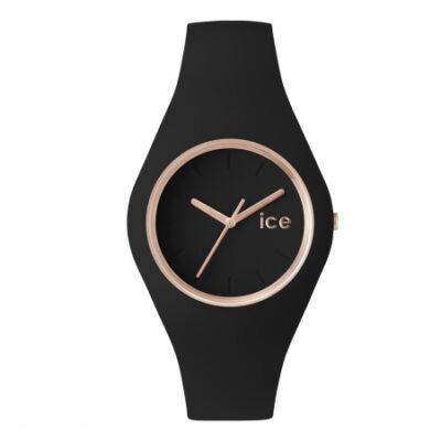 Ice Watch Glam fekete/rose gold, közepes méret, díszdobozban