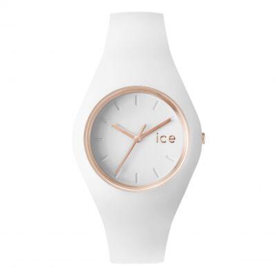 Ice Watch Glam fehér/rose gold, közepes méret, díszdobozban