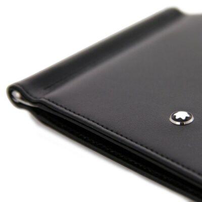 Montblanc  Meisterstück 4cc bőr pénztárca (pénzcsipesszel), díszdobozban