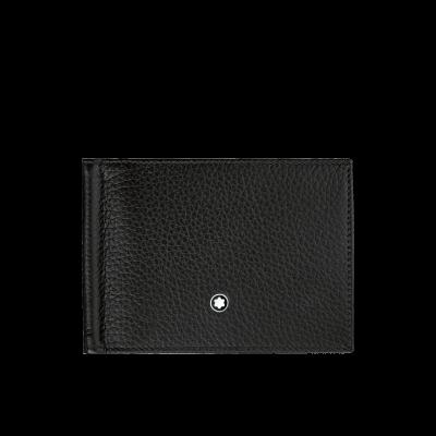 Montblanc  Meisterstück 6cc bőr pénztárca (pénzcsipesszel), díszdobozban