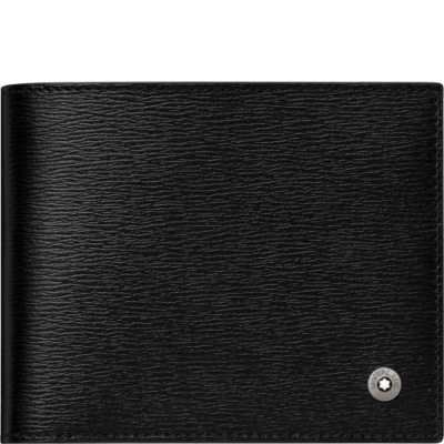 Montblanc  West Side 6cc bőr pénztárca, díszdobozban (pénzcsipesszel)