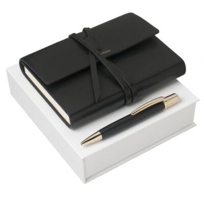 Nina Ricci ajándékszett. Jegyzetkönyv és golyóstoll, díszdobozban.