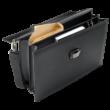MONTBLANC Westside bőrválltáska 2 fő rekesszel és további tárolókkal