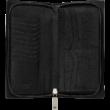 MONTBLANC Westside 13cc zipzáras tárca, fekete, díszdobozban