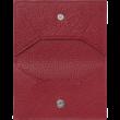 MONTBLANC Meisterstück Soft Grain piros kártyatartó, díszdobozban
