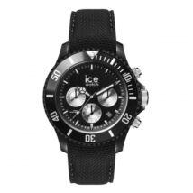 Ice Watch urban=PA-Black silver karóra, nagy méret, díszdobozban
