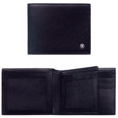 MONTBLANC Westside bőr tárca 6cc, fekete, díszdobozban