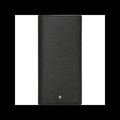 MONTBLANC Sartorial bőr tárca 12cc, fekete, díszdobozban