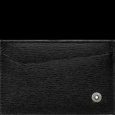 MONTBLANC Westside bőr kártyatartó 2cc, díszdobozban