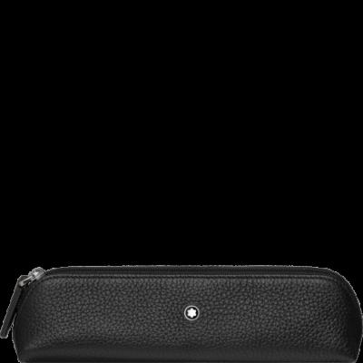 MONTBLANC Meisterstück Soft Grain bőr tolltartó, 2 tollhoz, díszdobozban