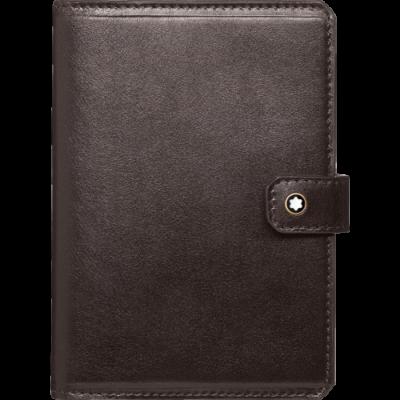 MONTBLANC Heritage bőr útlevéltartó, barna, díszdobozban