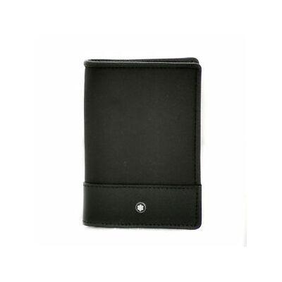 MONTBLANC Sartorial fekete kártyatartó, díszdobozban