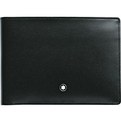 MONTBLANC Meisterstück bőr pénztárca 4cc, aprópénztartóval, díszdobozban