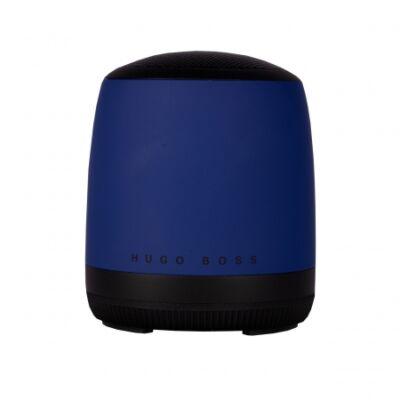 Hugo Boss Gear Matrix kék bluetooth hangszóró (56,6x66,2 mm), díszdobozban. Kompatibilis minden bluetooth eszközzel.