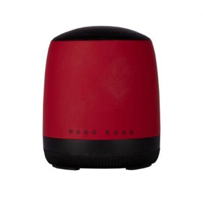 Hugo Boss Gear Matrix piros bluetooth hangszóró (56,6x66,2 mm), díszdobozban. Kompatibilis minden bluetooth eszközzel.