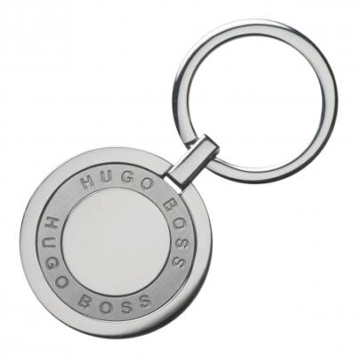 Hugo Boss Framework Chrome kulcstartó, díszdobozban