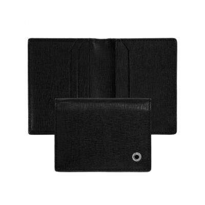 Hugo Boss Tradition Black bőr kártyatartó, díszdobozban