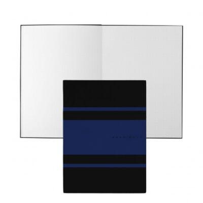 Hugo Boss Gear Matrix fekete/kék jegyzetfüzet A5