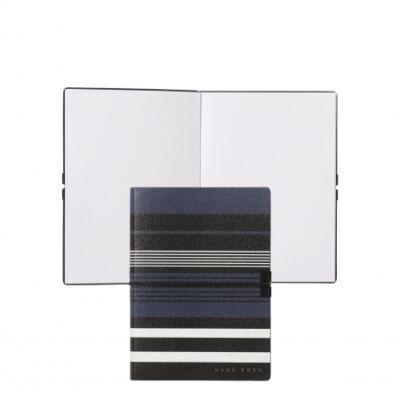 HUGO BOSS Storyline Stripes Blue jegyzet A6