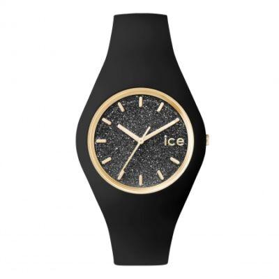 Ice Watch Glitter fekete, közepes méret, díszdobozban