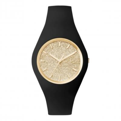 Ice Watch Glitter fekete/arany karóra