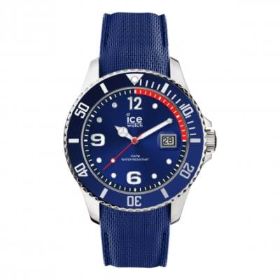 Ice Watch steel kék karóra, közepes méret, díszdobozban