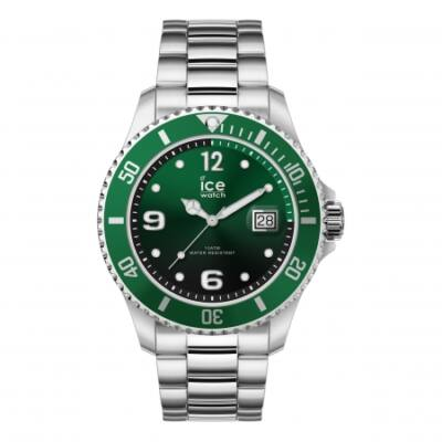 Ice Watch steel Green silver karóra, közepes méret, díszdobozban