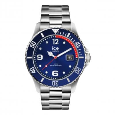 Ice Watch steel Blue silver karóra