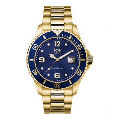 Ice Watch steel Gold Blue karóra, nagy méret, díszdobozban