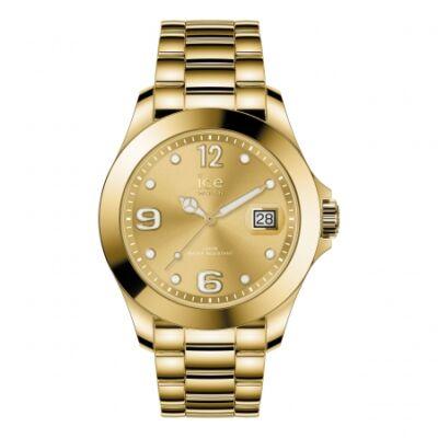 Ice Watch steel Classic Gold full shiny karóra, közepes méret, díszdobozban