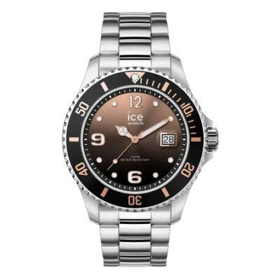 Ice Watch steel Black sunset silver karóra, közepes méret, díszdobozban