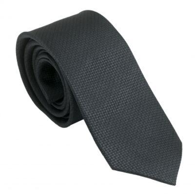 Ungaro Uomo Dark Grey selyem nyakkendő
