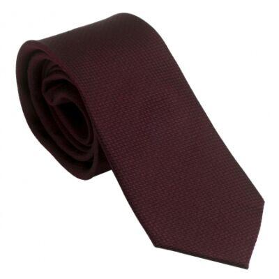 Ungaro Uomo Burgundy selyem nyakkendő