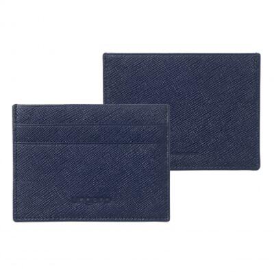 Ungaro Cosmo Blue bőr kártyatartó, díszdobozban